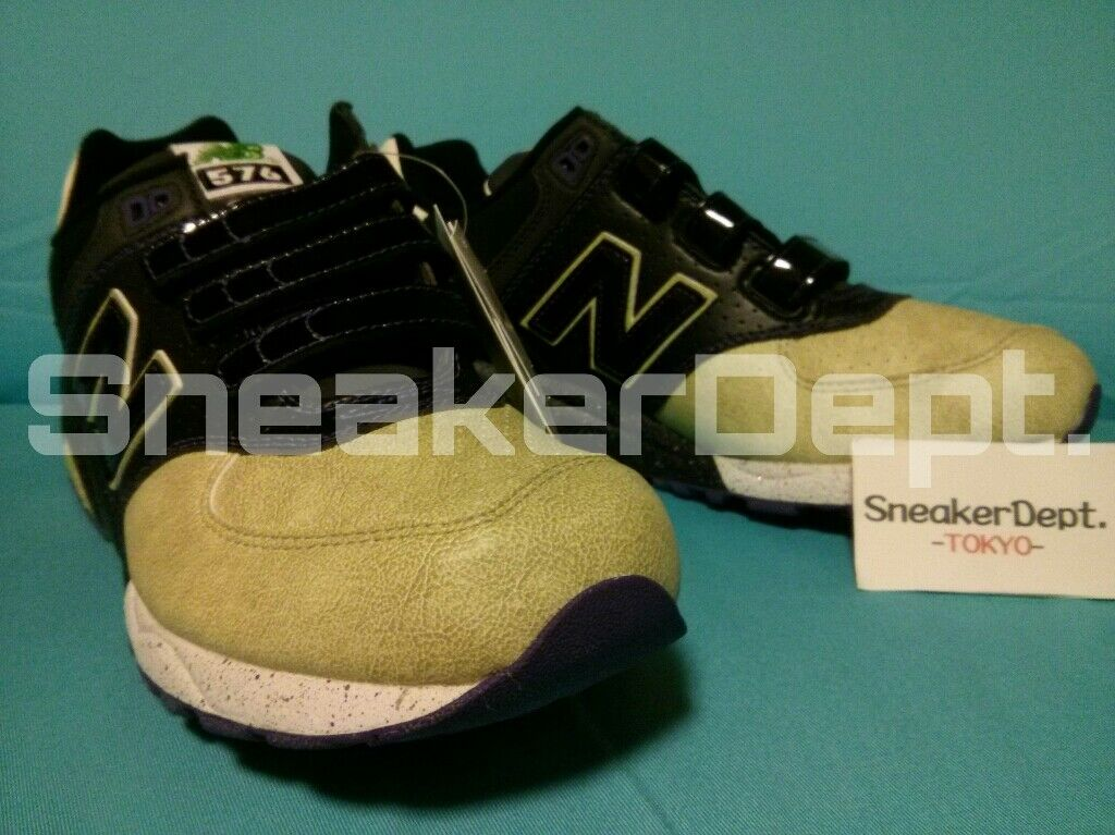 DS 2007 NEW BALANCE MT576V BR RAIJIN mitasneakers MITA VERCRO GLOWN SZ12