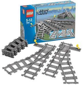 Image is loading LEGO-CITY-TRAINS-7895-SWITCHING-TRACKS-NEW-amp-