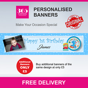 BD35 Name and Any Age Personalised Hatsune Miku Anime Birthday Banner