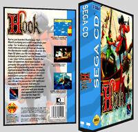 Hook - Sega Cd Reproduction Art Dvd Case No Game