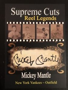 MICKEY-MANTLE-SUPREME-CUTS-FACSIMILE-AUTOGRAPH-CARD-NEW-YORK-YANKEES-HOF