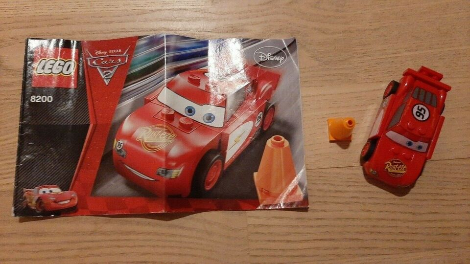Lego Cars, 8200