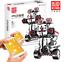 Bausteine-Roboter-Weiss-Fernbedienung-Spielzeug-Geschenk-Modell-Kind-791PCS Indexbild 1