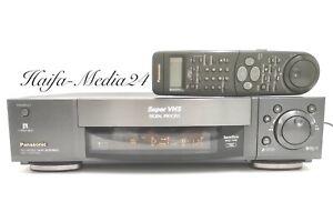 Panasonic NV-HS950 HighEnd S-VHS Recorder / SVHS Videorecorder +FB 1 Jahr Gewähr