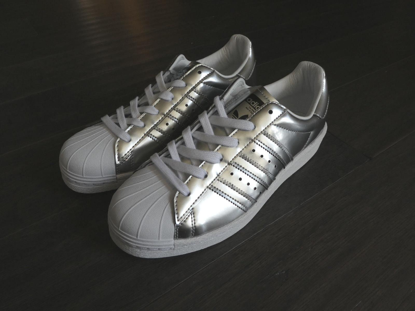 Adidas superstar bb2271 delle scarpette da ginnastica nuove bb2271 superstar impulso shell silver c408b3