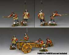"""KING AND COUNTRY PIKE&MUSKET ENGLISH CIVIL WAR""""PARLIAMENTRY GUNNERS""""SET A PnM015"""