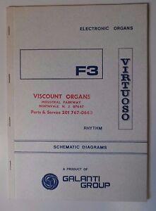 Original Galanti F3 virtuose Orgue électronique schémas-afficher le titre d`origine PMscZAeB-08122214-417307305