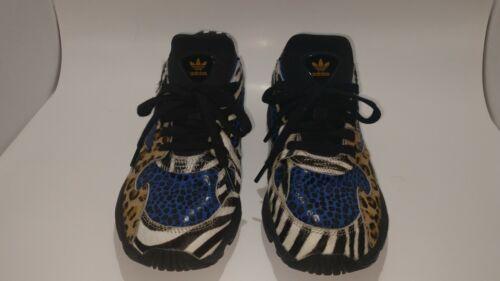 Adidas Falcon Women's Shoes Out Loud Leopard Blue