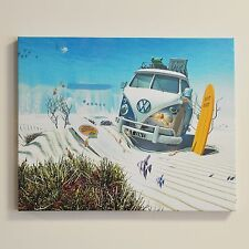 VW Canvas Print Lost Underwater Wall Art Fully Licensed By Volkswagen #54002