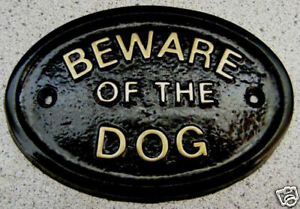 BEWARE-OF-THE-DOG-OR-DOGS-HOUSE-DOOR-PLAQUE-SIGN-COLLAR-LEAD