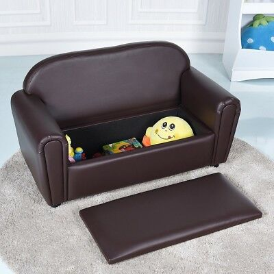 Kids Sofa Armrest Chair Lounge Couch W