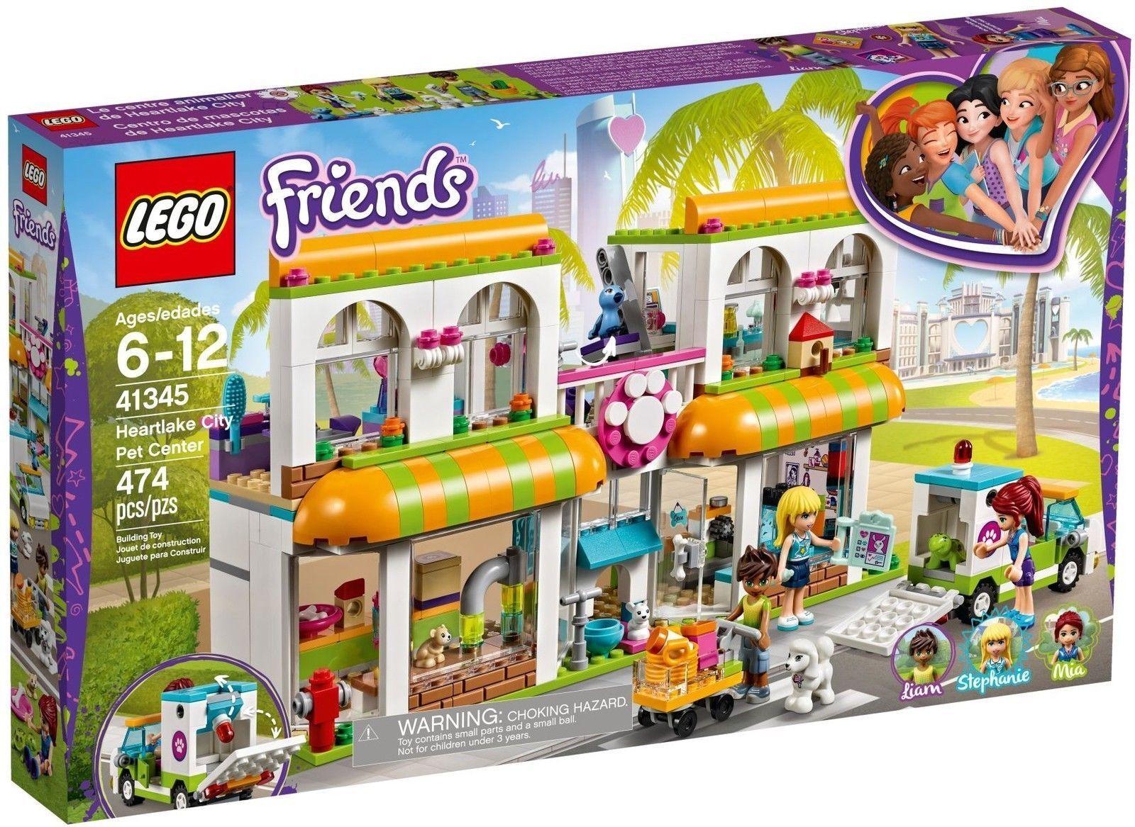 LEGO Friends 41345-Heartlake City Pet Center animal de  compagnie Centre Nouveau neuf dans sa boîte  coloris étonnants