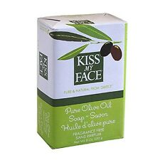 Kiss My Face Pure Olive Oil Bar Soap, Fragrance Free 8 oz