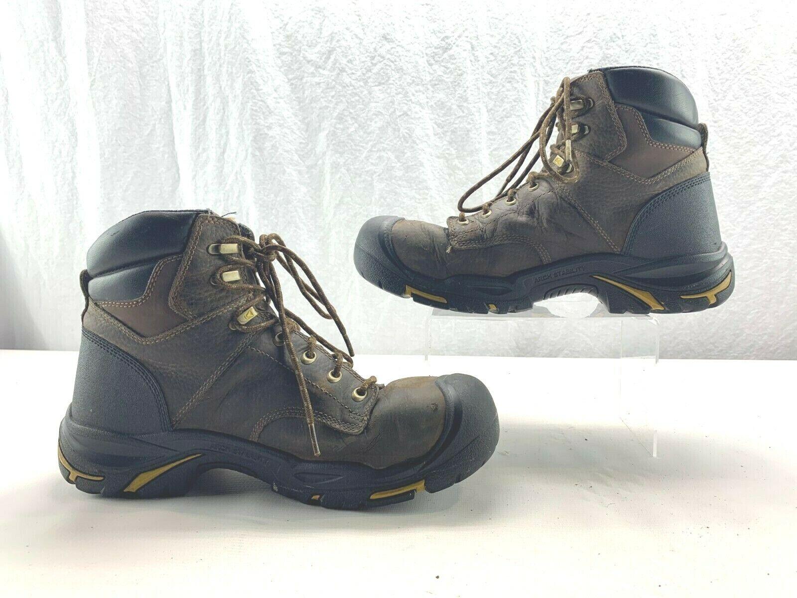 KEEN utilidad 1014600 para hombre Mt Vernon 6  Soft Toe WP botas De Trabajo D