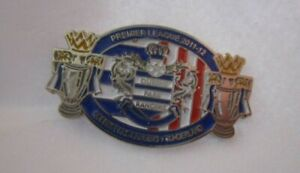 QUEENS PARK RANGERS SUNDERLAND 2011/12 OFFICIAL LIMITED EDITION BADGE