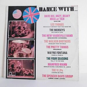 33T-DANCE-WITH-Vinyl-LP-12-034-The-TROGGS-The-MERSEYS-PRETTY-THINGS-V-I-P-s
