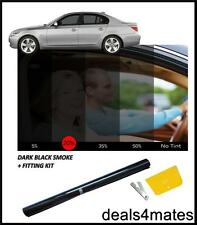 CAR WINDOW TINT FILM TINTING DARK BLACK  SMOKE 20% 76cm x 3M NEW