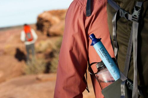 and Emergency Preparedness LifeStraw Personal Water Filter For Hiking Camping