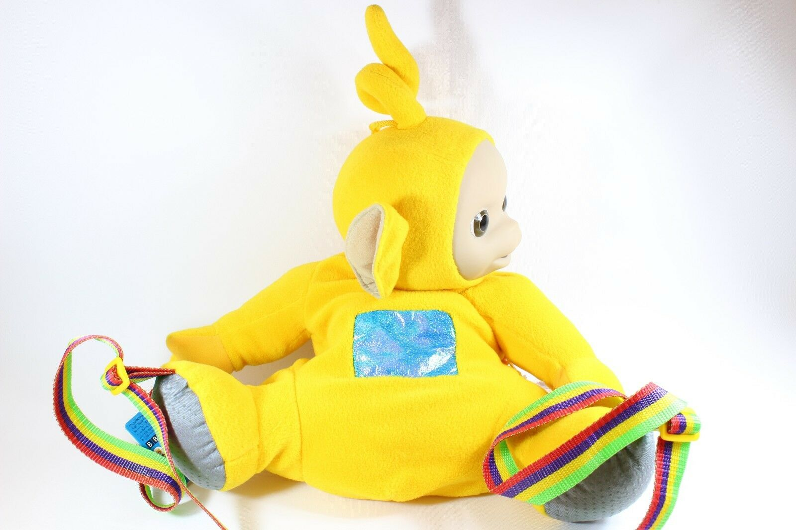 Teletubbies LaLa Gelb Gelb Gelb Laa Laa Telly Tubby Large Backpack Bag Retro Playskool 2e2889