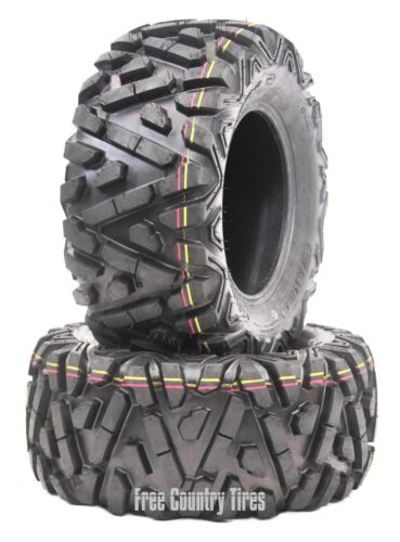 2 WANDA ATV UTV Tires 26x10-12 26x10x12 6PR P350 Bighorn Style All Terrain