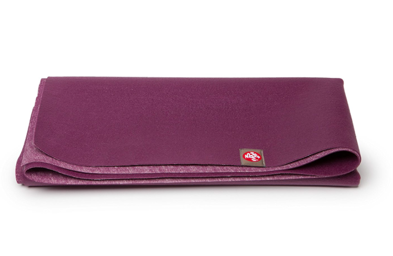 Manduka eKO SuperLite Travel Yoga and Pilates Mat Acai