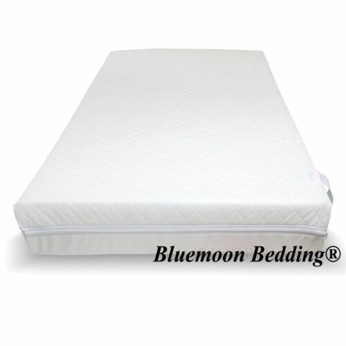 Baby Toddler Cot Bed Breathable QUILTED AND SOFT Foam Mattress Size 140x70 CM