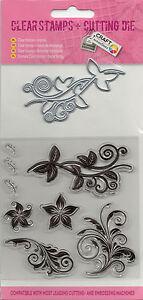 ClearStamp-Silikonstempel-amp-Schneideschablone-im-Set-Blumenornamente-029
