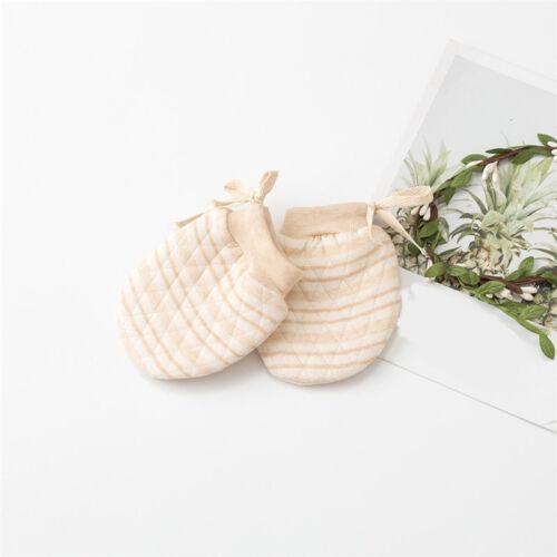 Newborn Winter Warm Mittens Cotton Gloves Baby Scratch Soft Glove LD