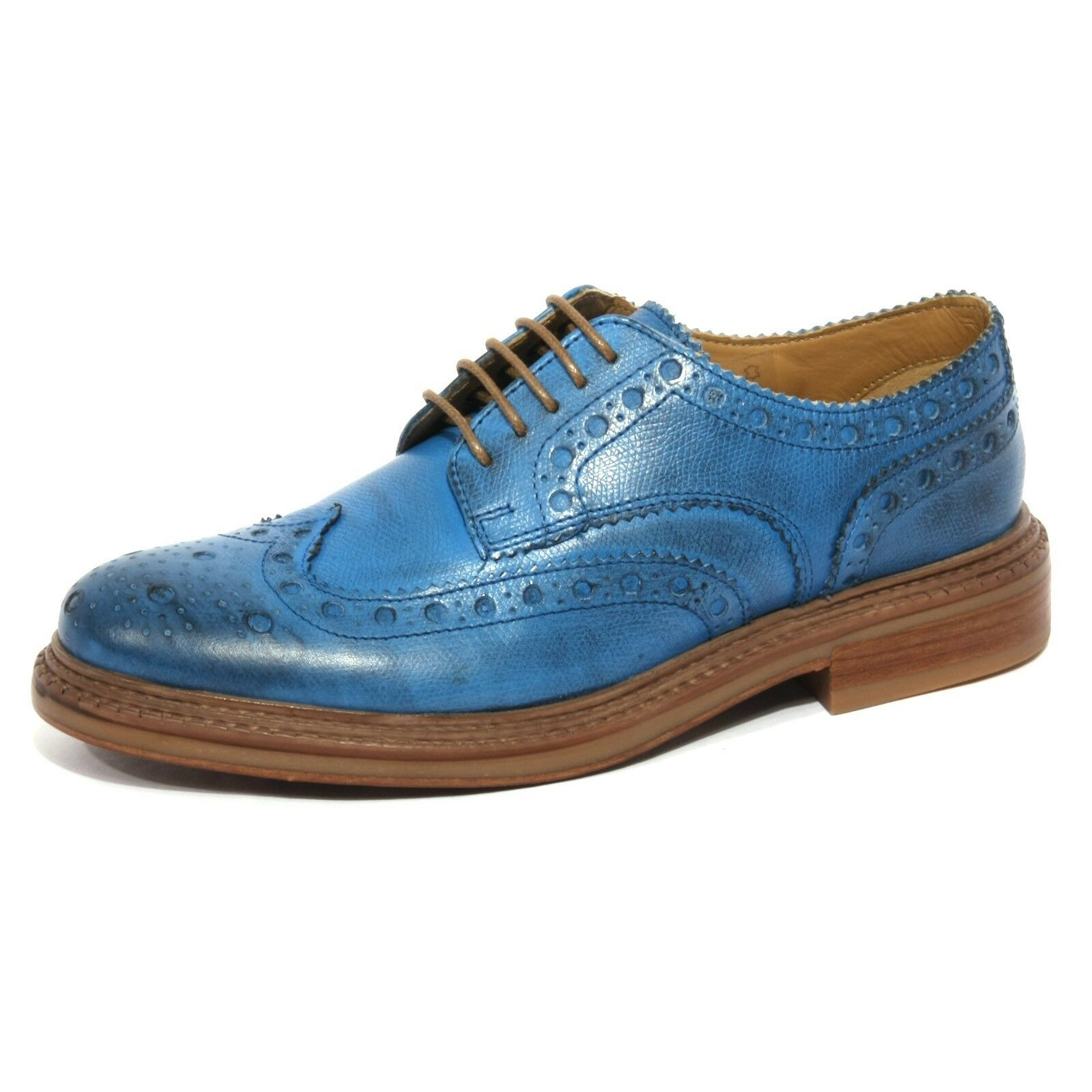 B1026 scarpa inglese BASE LONDON FARADAY vintage shoes Uomo