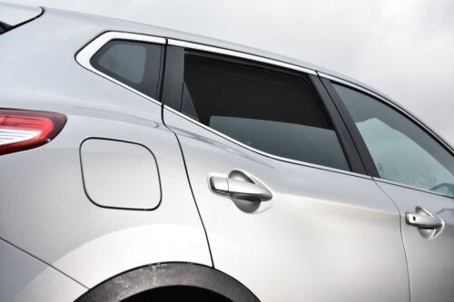 Komplett-Set Auto Sonnenschutz Blenden für Nissan Qashqai ab 2//2014 J11