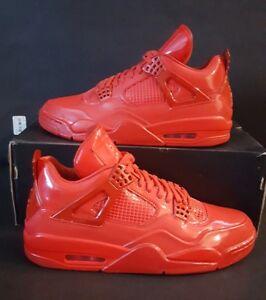 Nike Air Jordan 11LAB4 University Red Patent Leather 719864-600 Sz ... 22f9e8229