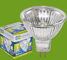 10 X Mr16 35W = 50Watts Energy Saving 12V Light Bulbs Crypton Halogen Gas New