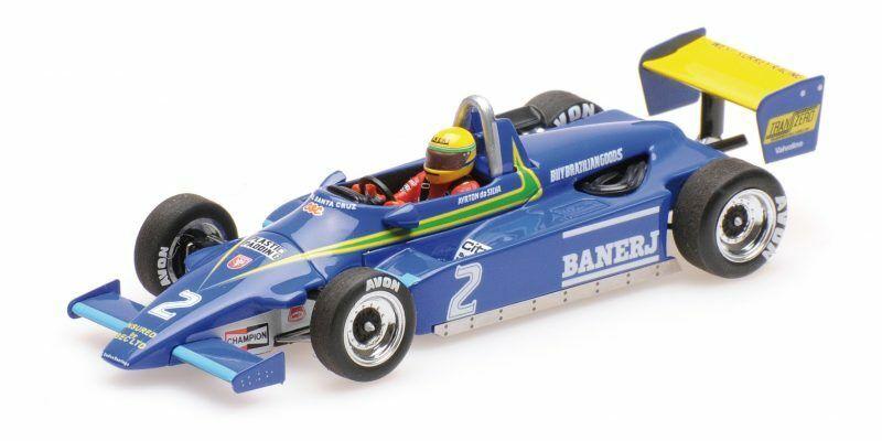 Ralt Toyota Rt3 Ayrton Senna 1st  F3 Win Thruxton 13 November 1982 1 43 Model  meilleure qualité meilleur prix