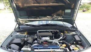 Black Strut Gas Lift Support Hood Shock Damper Kit for 05-07 Subaru Forester SG