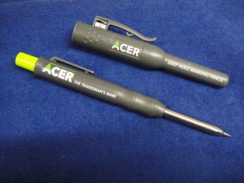 Acer trous profonds Graphite Automatique Crayon Marqueur avec site étui ADP2