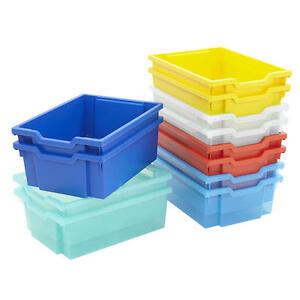 Image Is Loading Gratnells Deep Plastic Office School Education Storage Tray