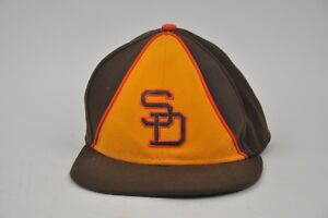 Brown-San-Deigo-Padres-Hat-Fitted-7-1-4-Cooperstown-Collection-SD-59-Fifty