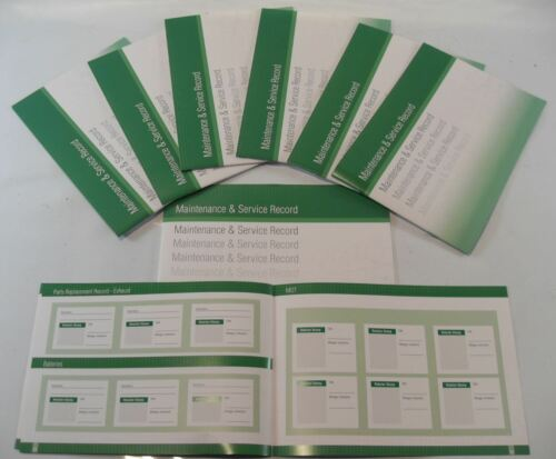 Generic Service History Book Suitable For  Astra Cavalier Corsa Vectra Green