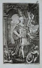 c1800 Maximilian III. Joseph Bayern Michaelsorden Kupferstich Portrait