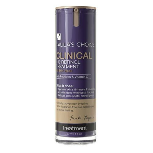 Paula's Choice Clinical 1% Retinol Treatment 1 OZ/30 ML - New In Box - Sealed