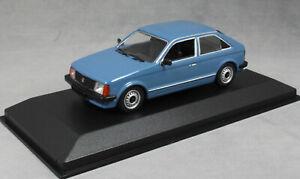 MINICHAMPS-maxichamps-OPEL-KADETT-D-en-Bleu-1979-940044100-1-43-Nouveau-ASTRA-Mk1