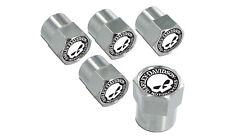 Harley-Davidson Chrome Willie G. Skull Valve Stem Cap Covers