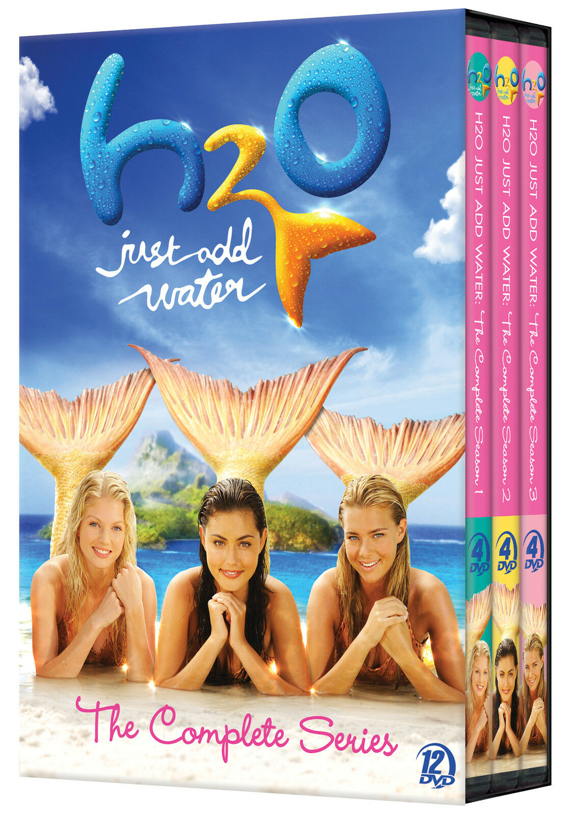 H2o just add water complete tv series seasons 1 2 3 boxed for Just add water series