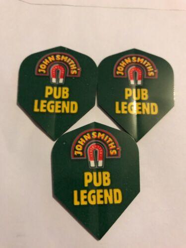 John Smiths 'Pub Legend' Bitter Beer Ale Magnet Logo Dart Flights x3 *New*