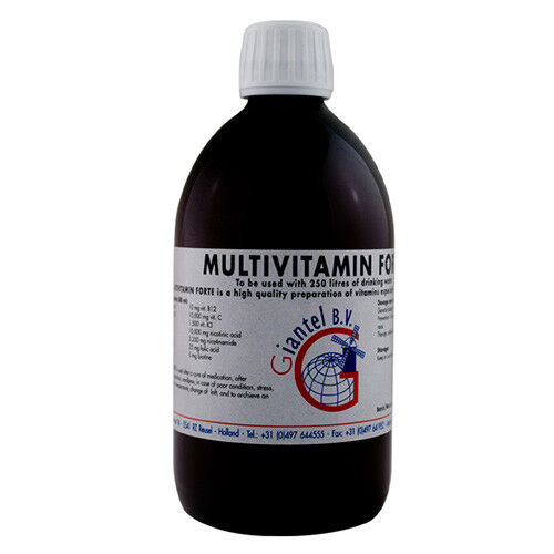 stress-by Giantel Pigeon Product Multivitamin Forte 500ml medication cycle