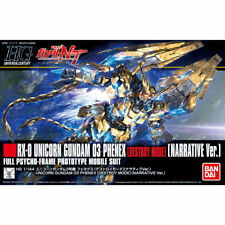 Bandai HGUC 1/144 Rx-0 Unicorn Gundam 03 Phenex Destroy Mode Barative Ver Kit