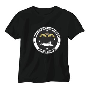 T shirt Submarine Submariner Sub Navy RAN USN RN