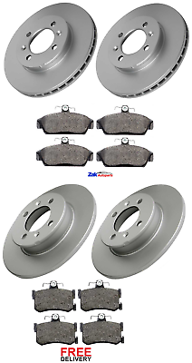 For MGF 1995-2002 Two Front /& Two Rear Brake Discs /& Brake Pads Set New