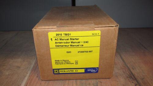 Starters Square D Manual Motor Starter 2510TBG1 NIB new in box ...
