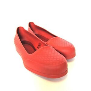 642382173c2 L-3897940 New Gucci Diamante Red Rubber Overshoes Shoes US-11 Marked ...